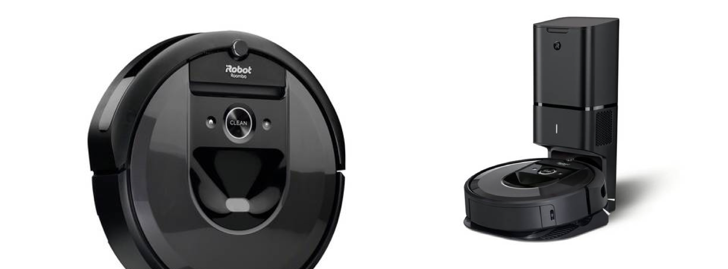 Introducing Roomba® i7+ Robot Vacuum with Clean Base™ Automatic Dirt Disposal!
