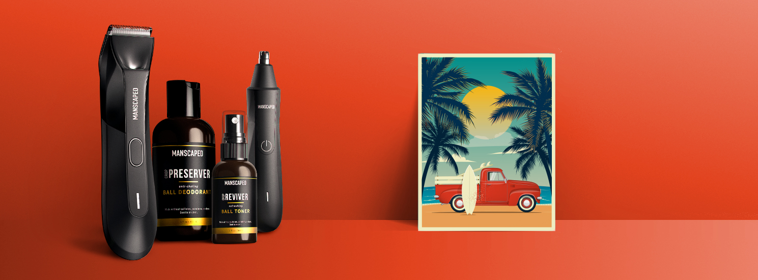Take 20% off during the MANSCAPED Summer Sale. Plus get free shipping + 2 free gifts.